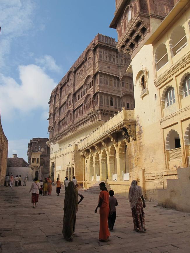 Jodhpur Kalesi'nin İçi