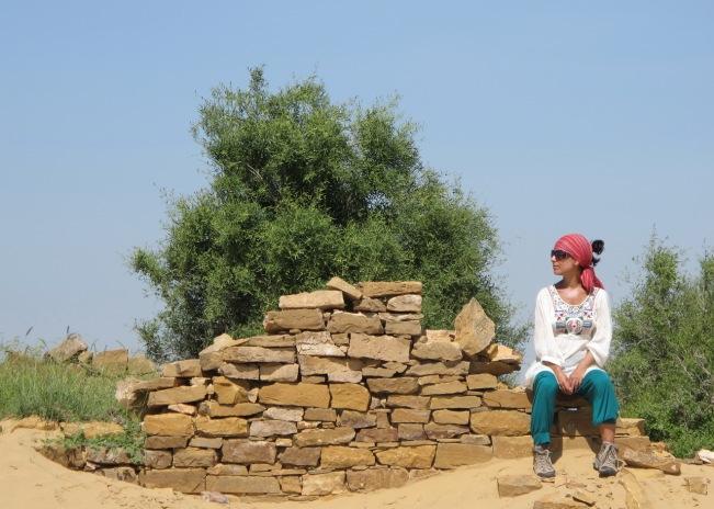 çöl köylerini ziyaret