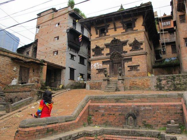 Bhaktapur Sokakları