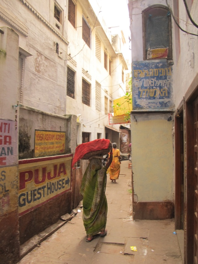 Varanasi Sokakları