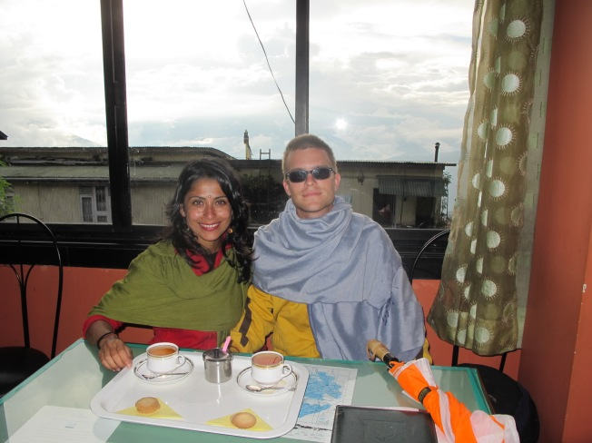 Darjeeling'de çay keyfi