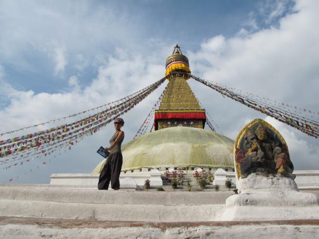 Boudhanath'taki meşhur Stupa