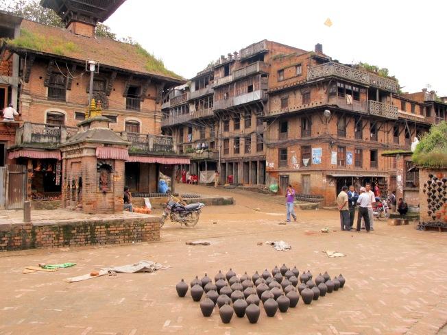 Bakhtapur - Potters Square (Çömlekçiler Meydanı)