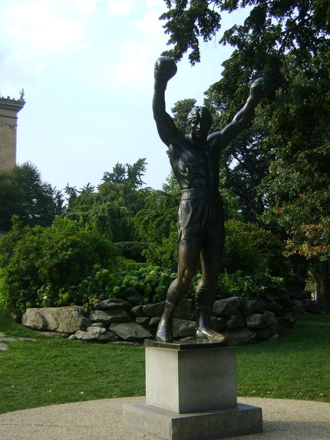 Rocky heykeli