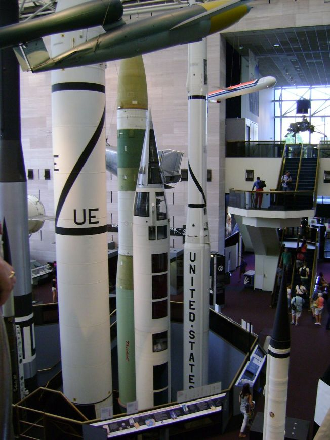 Air and Space Museum-içi