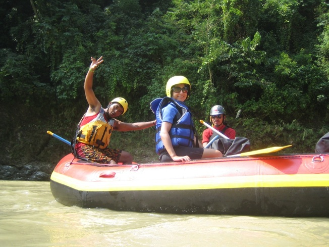 Seti nehrinde rafting