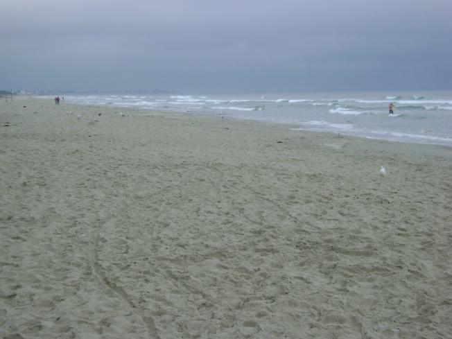Sahil ve okyanus