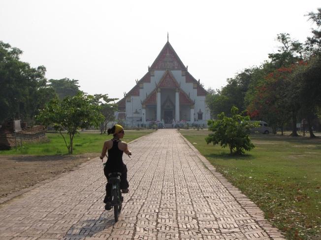 Bisikletle tapınak turu - Ayuthaya