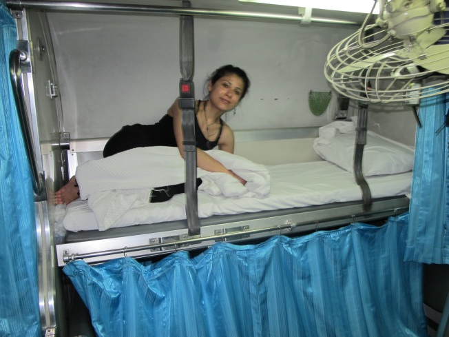 Tayland'ın yataklı trenleri