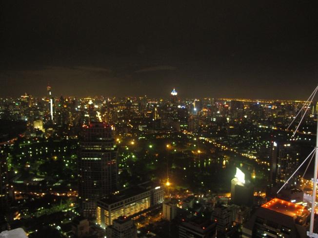 Sky Bar @Vertigo's'dan mutheşem Bangkok gece manzarası