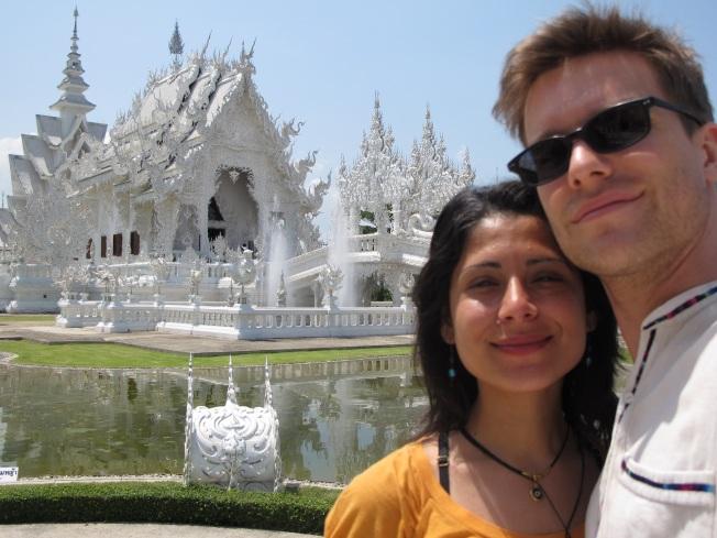 Chiang Rai'daki Beyaz Tapınak