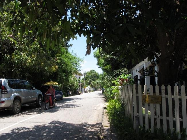 Luang Prabang sokakları
