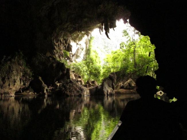 Mağaranın diğer ucundan çıkış