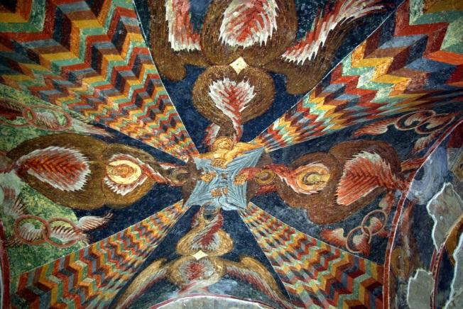 Duvar süsü-4 incili yazan Matta, Markos, Luka, Yuhanna