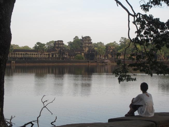 Ankor Wat'ı uzaktan seyretmek