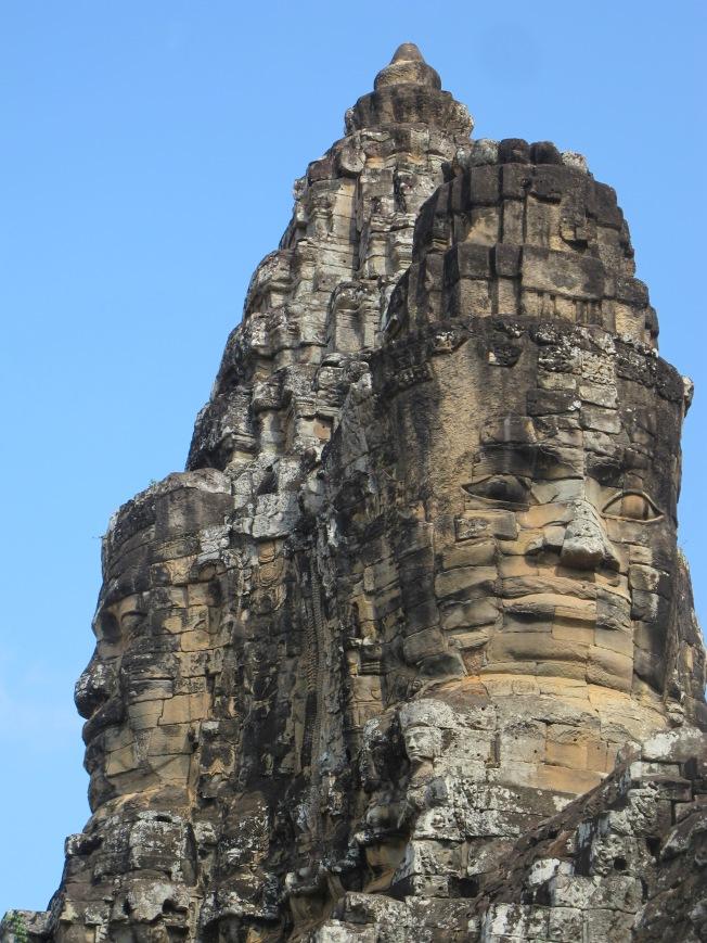 Bayon Tapınağı'nın yüzleri