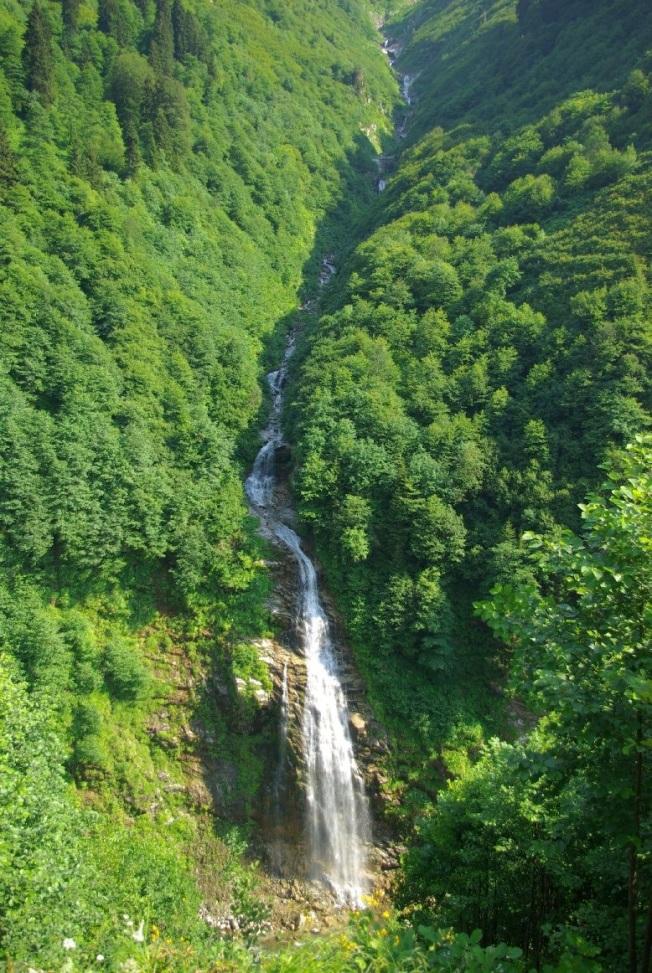 Ayder Yaylası- Gelin tülü şelalesi