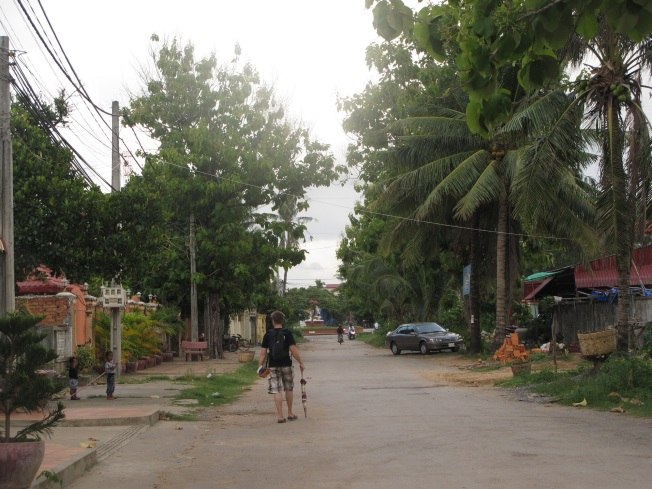 Kampot sokakları