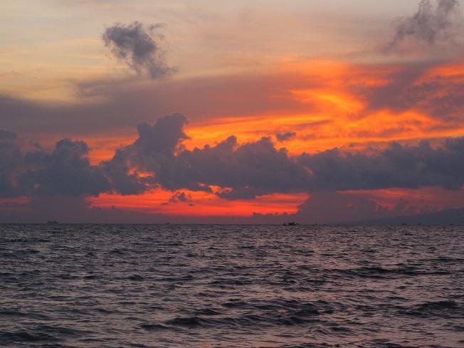 Ve hayatımda gördüğüm en güzel günbatımı