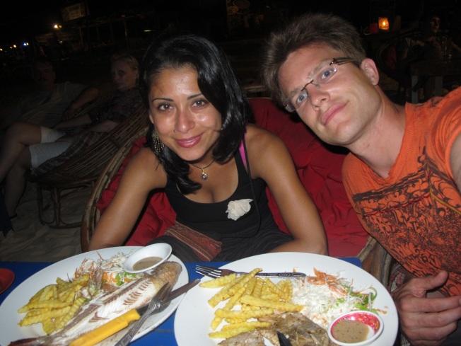 Serendipity Plajı'nda Akşam Yemeği