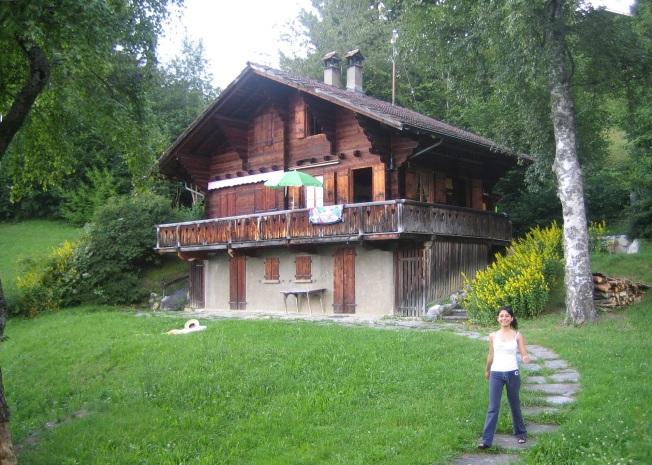 Sevgili dağ kulübemiz Solpraz