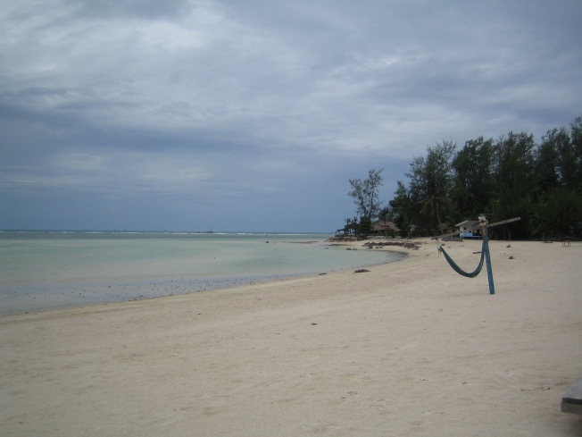 Koh Phangan sahilleri