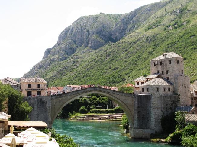Mostar Köprüsü ~ Bosna Hersek