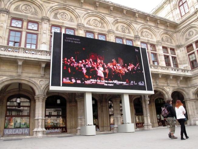 Açık havada canlı opera!