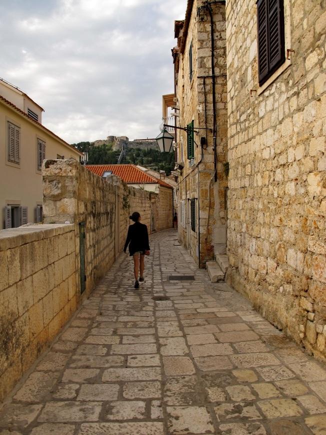 Hvar Town sokakları