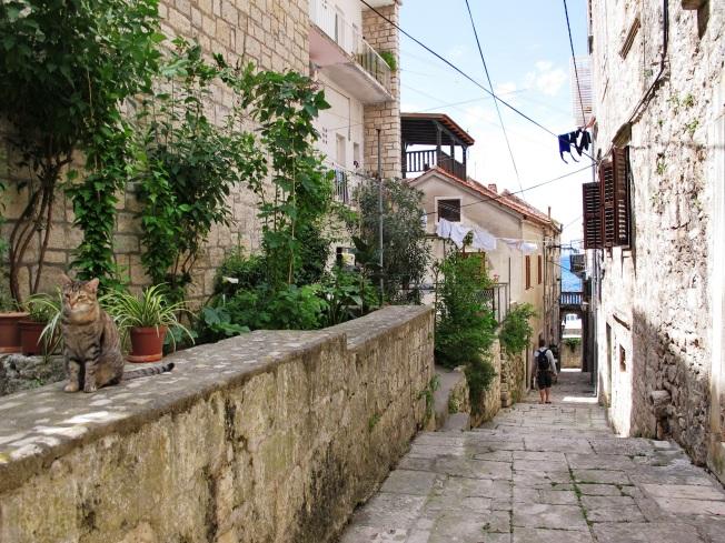 Korčula Sokakları