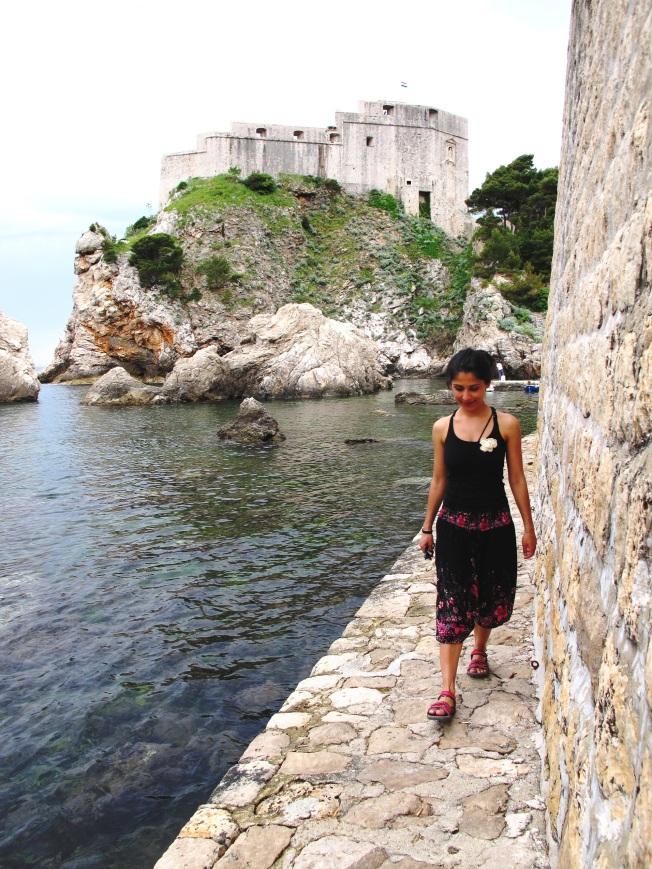 Dubrovnik eski şehir limanı