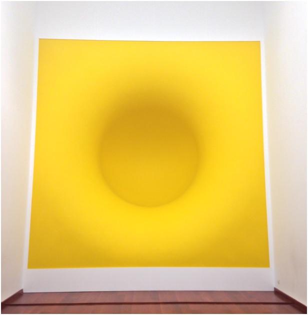 Sarı – 1999 – cam elyaf ve pigment