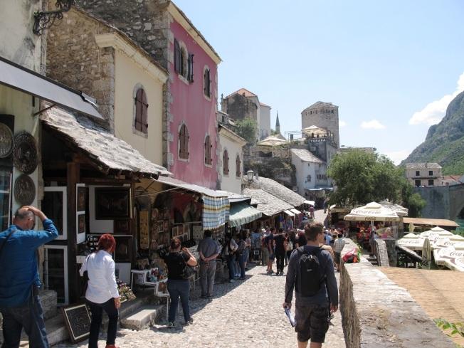 Mostar şehir merkezi
