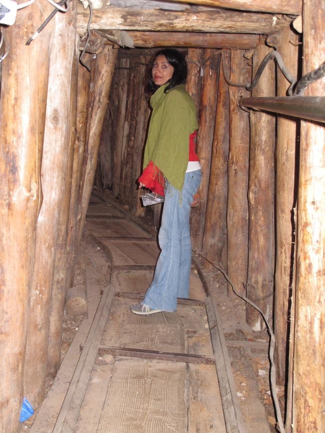 Tünel Müzesi - tünelin girişi