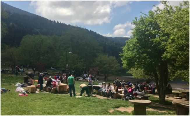 Gölcük'te piknik ortamları