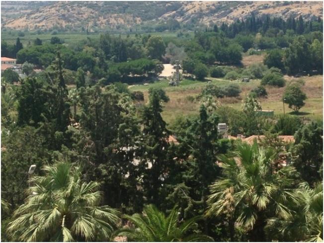 Artemis tapınağından geriye kalan tek sütun