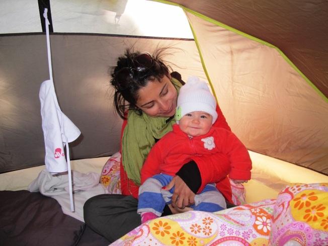 Eskimo Maya 5 derecelik bir kamp gecesine hazır