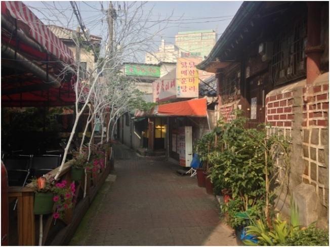 Kore ara sokakları