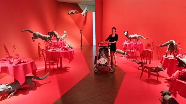 Denver Art Museum'daki modern sanat çalışmaları