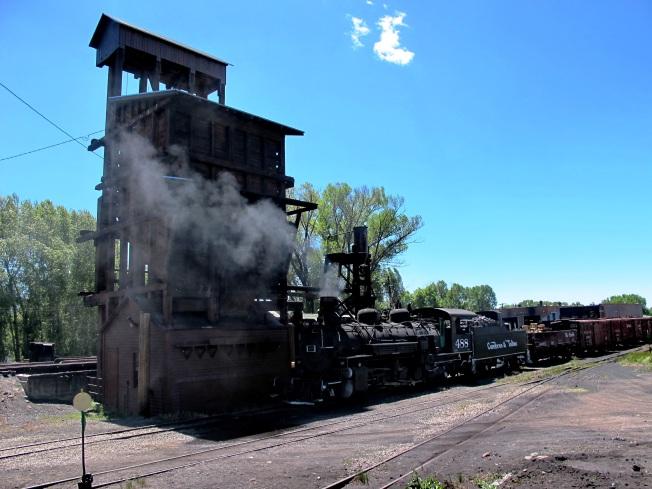 Chama'nın tarihi buharlı lokomotifleri