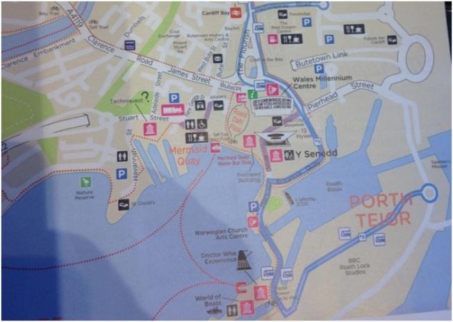 Mermaid Quay Haritası