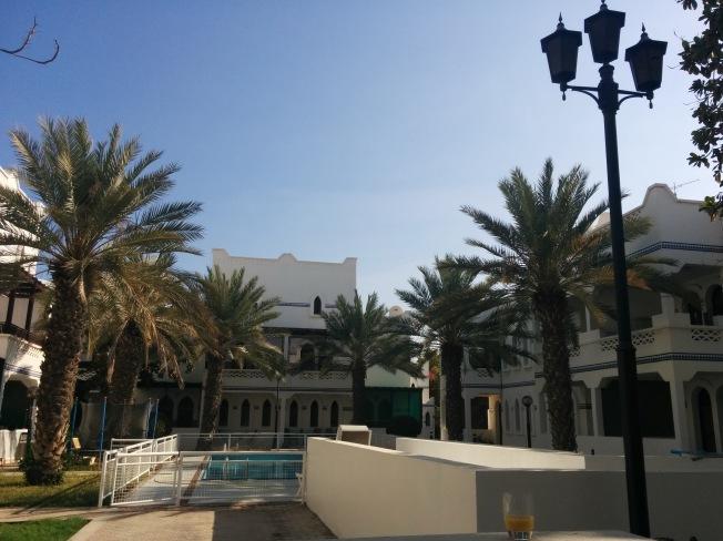 B&B'mizin teras manzarası, huzurlu kahvaltılarımızın mekanı