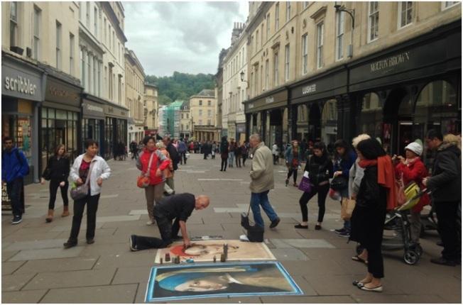 Bath sokakları