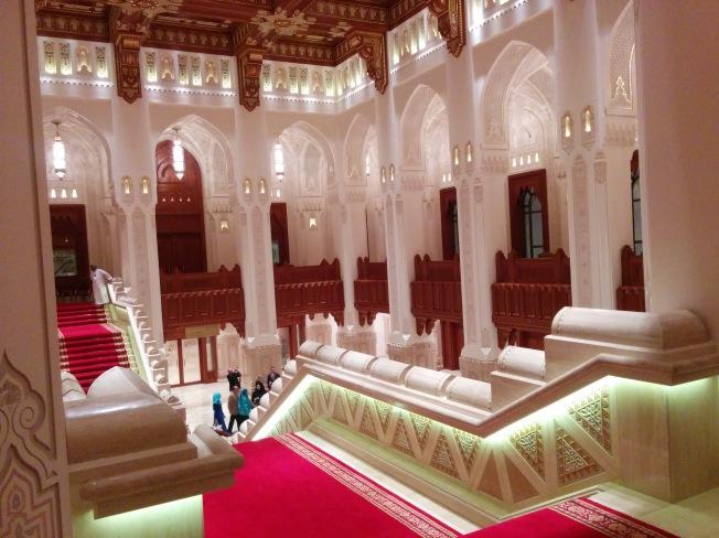 Muscat Opera House iç mekanlar