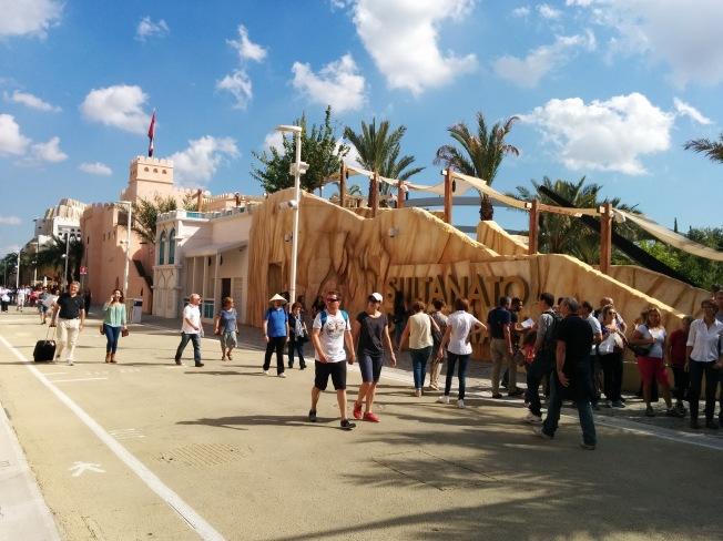 Expo Milano 2015´te Umman Pavilyonu