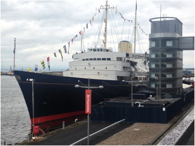The Royal Yacht Brittania