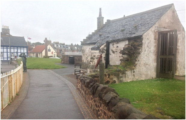 North Berwick'de 1100 yılından kalma kilise