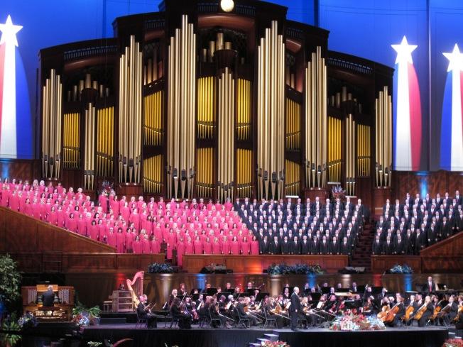 Mormon korosu konseri