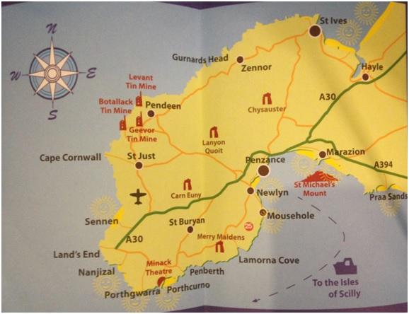 Penzance ve Çevresi – Cornwall'ın en uç noktası