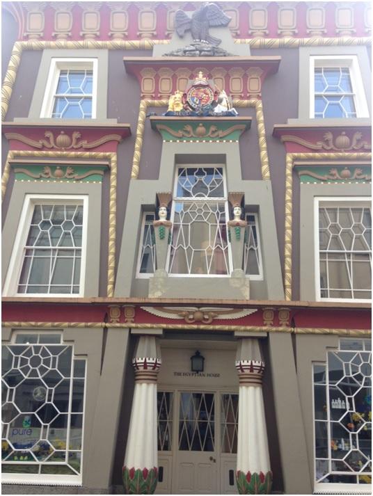 Egyptian House – Chapel Street üzerinde